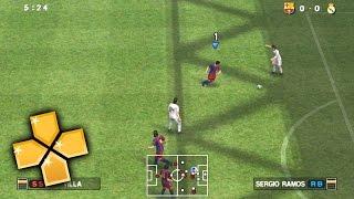 Pro Evolution Soccer 2011 PPSSPP Gameplay Full HD / 60FPS