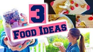 getlinkyoutube.com-3 Breakfast & Lunch Ideas for Back to School