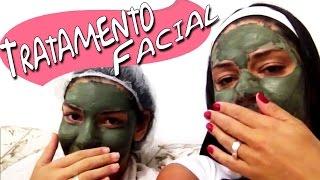 getlinkyoutube.com-Tratamento Facial - Argila Verde - Melasma, Espinhas, Manchas de Pele e Olheiras