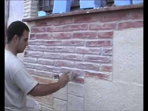 Muro pietra finta