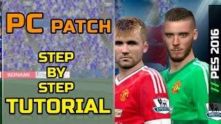 [TTB] PES 2016 - How to Patch PC Version - In Depth Step by Step Tutorial - Classic Patch