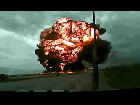 Dramatic footage: Cargo Boeing 747 crashes at Bagram Airfield -lksDISvCmNI