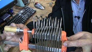 getlinkyoutube.com-#356 Complete tutorial for rocket stove wood pellet fire basket