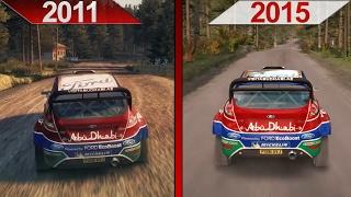 getlinkyoutube.com-Comparison | DiRT3 (2011) ULTRA vs. DiRT Rally (2015) ULTRA | GTX 970