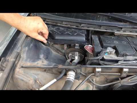 Дезинфекция, чистка кондиционера автомобиля Ауди А4 Б6 своими руками