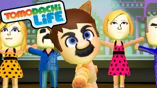 getlinkyoutube.com-Tomodachi Life 3DS Cat Mario Musical, Samus Suit, DK Shirt Gameplay Walkthrough PART 9 Nintendo Mii