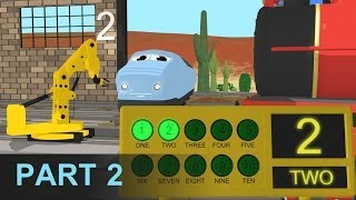 getlinkyoutube.com-Learn Numbers and Build Trains - Learn Numbers at the Train Factory - Part 2