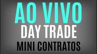 Day Trade ao vivo Mini Índice e Mini Dólar com Jota - 16-03-2018