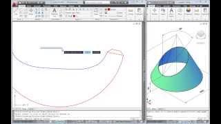 การประยุกต์ใช้ AutoCAD 2010 เขียนแบบแผ่นคลี่ วิธี Radial line