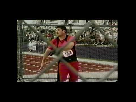 NCAA Track & Field Championships Hammer Throw 2001