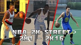 getlinkyoutube.com-History of NBA 2K Street Blacktop - (2K1-2K16)