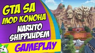 "getlinkyoutube.com-GTA SA: MOD KONOHA NARUTO SHIPPUDEN - MAPA GIGANTESCO!! """