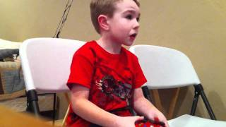 getlinkyoutube.com-5 year old kid freaks out over COD: Black Ops!!!