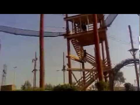 GO Aish Safari Park Karachi Pakistan Free Fall Ride Video1