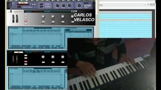 """getlinkyoutube.com-""""la cucharita"""" en directo RITMO COLOMBIANO CON TIPLE Y REQUINTO VIRTUAL"""
