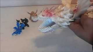 getlinkyoutube.com-Dragon Toys: Screaming Death Vs  Whispering Death from How to Train Your Dragon