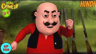 Motu Patlu Ki Jodi - Motu Patlu in Hindi - 3D Animated cartoon series for kids
