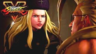 getlinkyoutube.com-Street Fighter 5 Movie: A Shadow Falls All Cutscenes (Game Movie) 1080p 60FPS HD