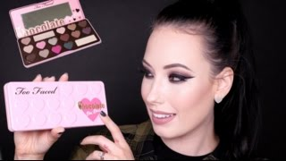 getlinkyoutube.com-REVIEW + TUTORIAL + SWATCHES: TOO FACED Chocolate Bon Bons Palette 2015 | lesleydoesmakeup