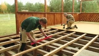 getlinkyoutube.com-DAUERHOLZ-Terrassen bauen mit DAUERFIX