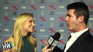 Simon Cowell Talks One Direction 'Midnight Memories' & X-Factor! width=