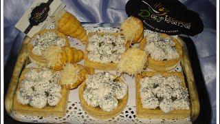 getlinkyoutube.com-Tarte salée شهيوات ريحانة كمال تارت مالحين بالجبن و التونة