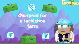 getlinkyoutube.com-Growtopia | Buying Tackle Box Farm for OVERPAY