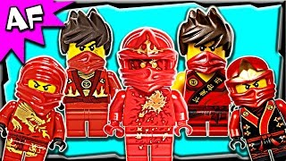 Lego Ninjago Kai RED NINJA Minifigures Complete Collection