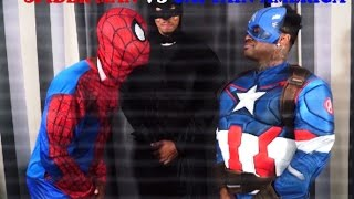 getlinkyoutube.com-FREESTYLE RAP BATTLE: Spider-Man VS Captain America