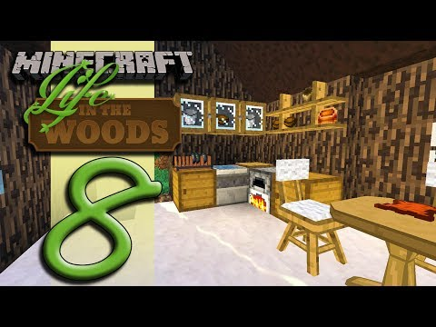 Minecraft Life In The Woods - EP08 - A House Into A Home