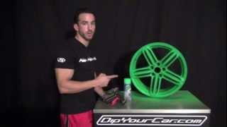 getlinkyoutube.com-Blaze Green Over Black Plasti Dip - New Spray Trigger