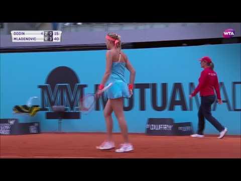 2017 Mutua Madrid Open Day 5 | Shot of the Day | Mladenovic