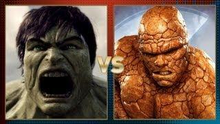getlinkyoutube.com-Hulk vs Thing: Fanboy Faceoff