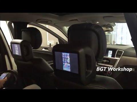 Apple TV Box + iPhone на штатные мониторы Мерседес на примере W166