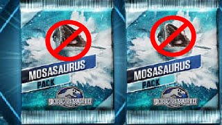 getlinkyoutube.com-Jurassic World The Game: No Mosasaurus No Life | Mosasaurus Event