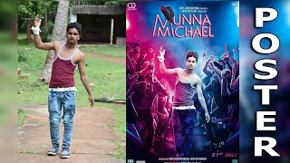 Munna Michael Movie Poster Editing in Picsart || How to To Make movie poster In picsart