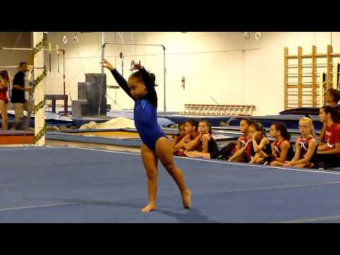 Level 2 Gymnastics Floor Routine- JoElle's first meet