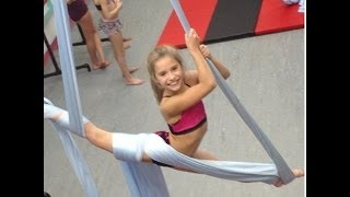 ALDC Doing Tricks on Acro Silks!~ Dance Moms