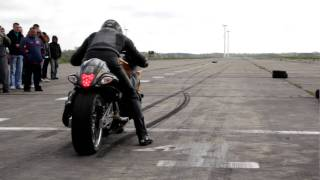 getlinkyoutube.com-Hayabusa turbo 500km 1/4 mili Śniatowo 2011