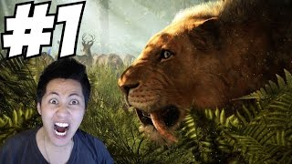 getlinkyoutube.com-Far Cry Primal Gameplay Walkthrough Part 1 Facecam Let's Play 1080p Impressions Review PS4