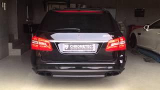 getlinkyoutube.com-Mercedes E-Klasse W212 mit Soundgenerator, Active Sound System - V8 Sound für Mercedes W212