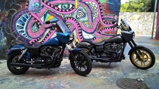 getlinkyoutube.com-Dynamite crew installs Conelys T sport retro fairing on bike