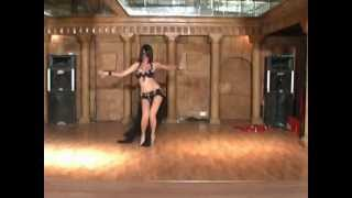 getlinkyoutube.com-Daniela  Ochoa Mexican Belly Dancer