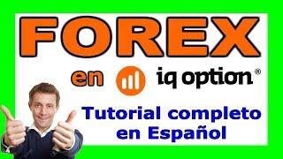 ▶️ FOREX IQ OPTION: Tutorial de Trading Completo en ESPAÑOL