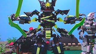 getlinkyoutube.com-LEGO Ninjago Curse of Morro EPISODE 3 - Titan Mech Battle