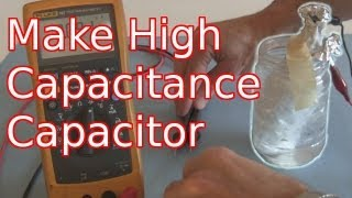 getlinkyoutube.com-How to Make a High Capacitance Electrolytic Capacitor
