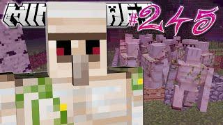 getlinkyoutube.com-Minecraft | 20 IRON GOLEMS?! | Diamond Dimensions Modded Survival #245