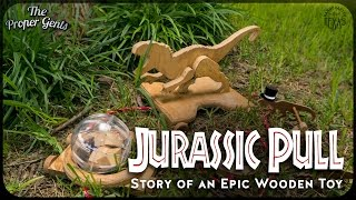 getlinkyoutube.com-Jurassic World Dinosaur Pull - Story of an Epic Wooden Toy