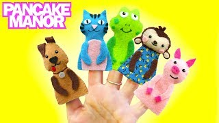 getlinkyoutube.com-ANIMAL FINGER FAMILY ♫| Finger Family Song | Nursery Rhyme | Pancake Manor