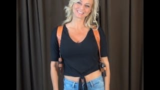 getlinkyoutube.com-Tammy Displays The Best Custom Shoulder Holster In The World WeaponsEducation